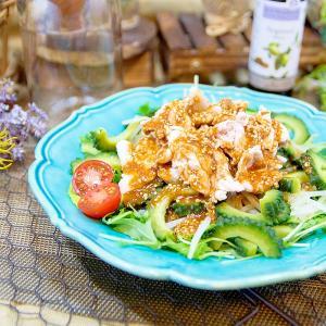 アルガンポン酢の冷しゃぶサラダ