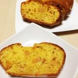 バター不使用!!たっぷり柿のパウンドケーキ