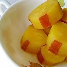 さつま芋のオレンジグラッセ