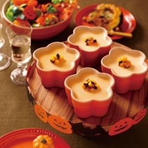 [ル・クルーゼ公式] かぼちゃのレアチーズケーキ
