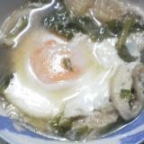 落とし卵煮