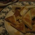 三角はんぺんのバターしょうゆ炒め