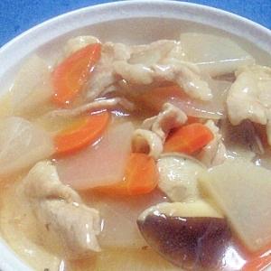 大根と豚肉の中華風スープ煮
