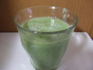 ヘルシージュース(小松菜、バナナグレープフルーツ)