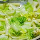 白菜たっぷりのマカロニサラダ