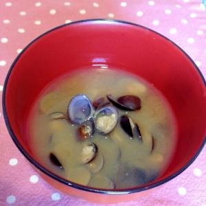 【今日のお味噌汁】しじみを味わうお味噌汁☆
