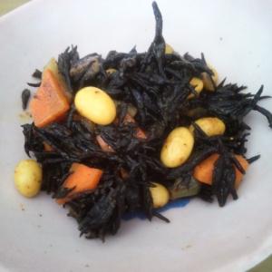 ひじきと大豆のカレー煮