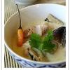 タイ風鶏肉のスープ