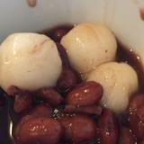 小豆缶で簡単おしるこ