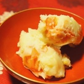 はんなり和ポテサラ、柚子胡椒香る温じゃがいもサラダ