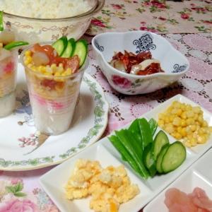お雛祭りにも♪カップ寿司パーティ