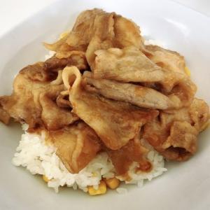 味噌バタ豚丼