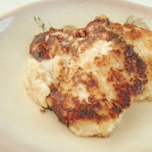 節約★水切り不要★豆腐とツナのとろ~りパン粉焼き