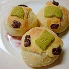 レンジ発酵 トリプルクッキーパン
