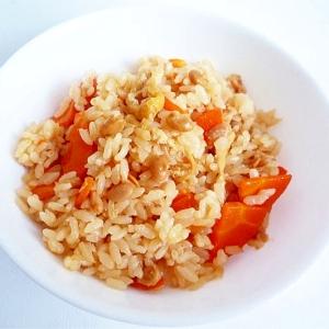 納豆の炊き込みご飯