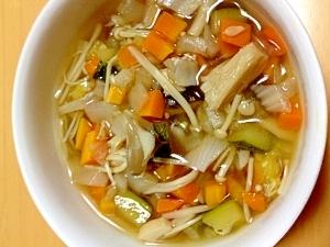 手軽に野菜がとれる☆☆具だくさんスープ