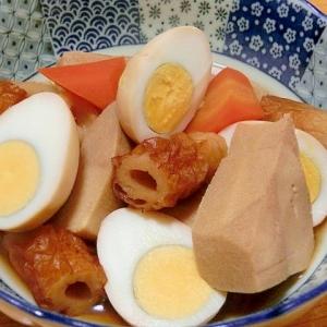 高野豆腐と玉子の煮もの
