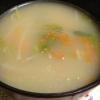 人参の味噌中華スープ