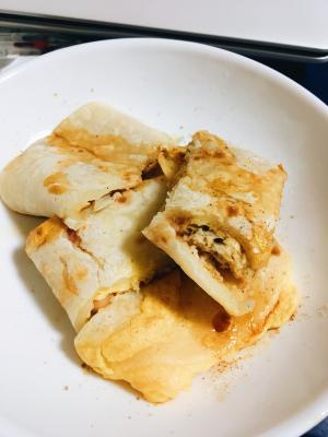 台湾料理!朝ごはんの蛋餅(ダンビン)