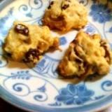 ノンオイル・マクロビ仕様のサクサクバニラクッキー
