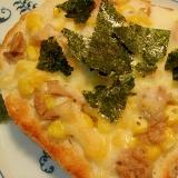 ツナ&コーン海苔チーズトースト