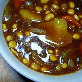 お豆カレー★
