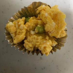 枝豆の炒り卵(^_^)