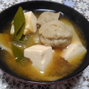 肉団子味噌汁