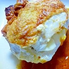 チーズイン鶏胸ソテー