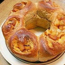 紅茶と林檎のリングパン