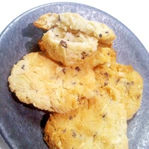 【糖質制限】ざくざくアーモンドココナッツクッキー
