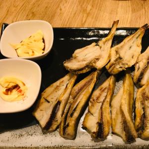 シンプル 焼き干し氷下魚(こまい)