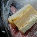 レンジで簡単厚焼き玉子サンド