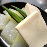 冬瓜と高野豆腐の炊合せ