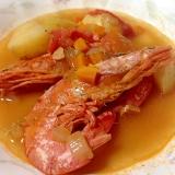 海老の旨味たっぷり♡スープ