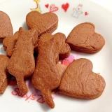 パパが作ったココアクッキー(*^_^*)