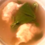 水餃子★スープ