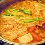 冬の定番♪キムチ味噌チゲ鍋★