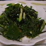 海藻サラダ☆梅ドレッシング和え