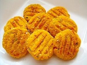 ワンコ用 かぼちゃとリンゴのソフトクッキー