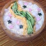 7月7日は素麺の日♪キラキラ天の川♪七夕素麺♪