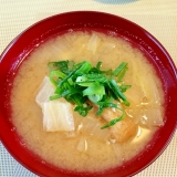冬野菜たっぷり☆お味噌汁