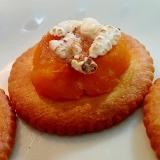 南瓜とポン菓子の焼きリッツ