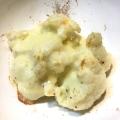 カリフラワーのとろとろチーズ