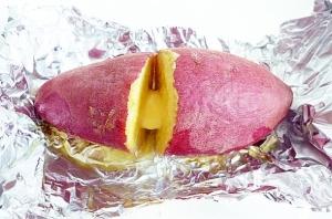オーブントースターで時短簡単 焼き芋