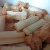 根曲がり竹の煮物