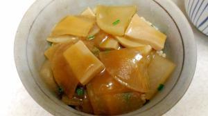 高野豆腐と大根の旨煮丼