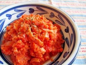 バジルが香る♪洋風おからのトマト煮