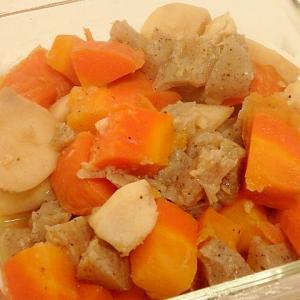 里芋とにんじんとこんにゃくの煮物
