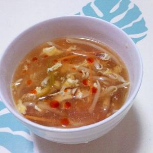 酸辣湯スープ